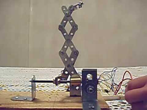 Scissor Lift Amp Motor Set Up Youtube