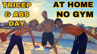 TRICEP AND ABS DAY FOR BEGINNERS| LIVE STREAM BADRI FITNESS