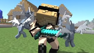 Best Psycho Girl Minecraft Songs *NEW* July 2018 (Top Minecraft Songs)