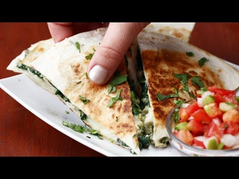 BBQ CHICKEN QUESADILLAS 4 WAYS