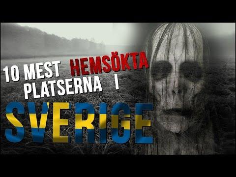 10 Mest Hemsökta Platserna I Sverige