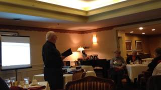 A reading by Author Richard Hatin from his book Deadly Whisper