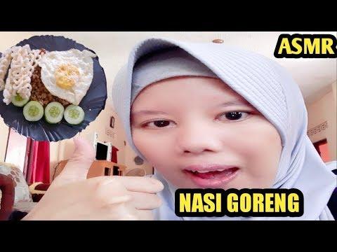 ASMR MUKBANG FRIED RICE ( NASI GORENG )    EATING SOUND    ASMR INDONESIA