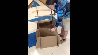 How To Build A Cardboard Box Chair