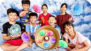 Tony | Máy Làm Kẹo Bông Gòn Tự Chế - Candy Cotton
