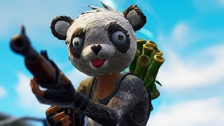 "PANDA'S NEW LEGENDARY SKIN! THE ""P.A.N.D.A. TEAM LEADER""! (Fortnite Battle Royale)"