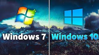 Windows 7 vs Windows 10 in 2020