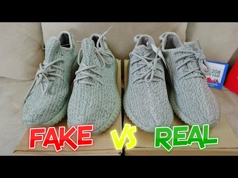 Adidas Yeezy Moonrock Fake