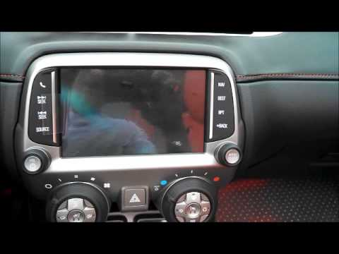 How To Upgrade A 2010 2014 Chevy Camaro To A Factory Mylink Navigation System Youtube