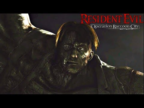 Stealing The G-Virus From William Birkin - Resident Evil Operation Raccoon City (2012)