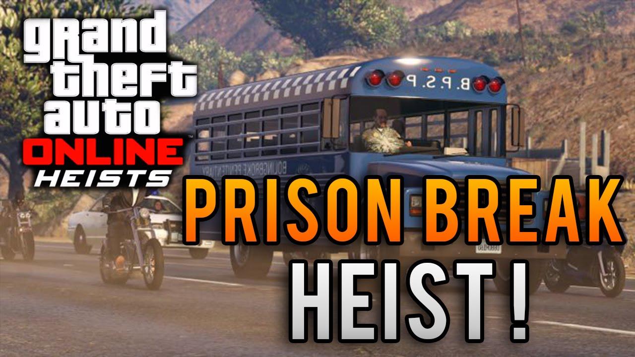 Gta 5 Heist Prison Break Full Heist Gameplay Gta 5 Prison Break Finale Heist Walkthrough Youtube