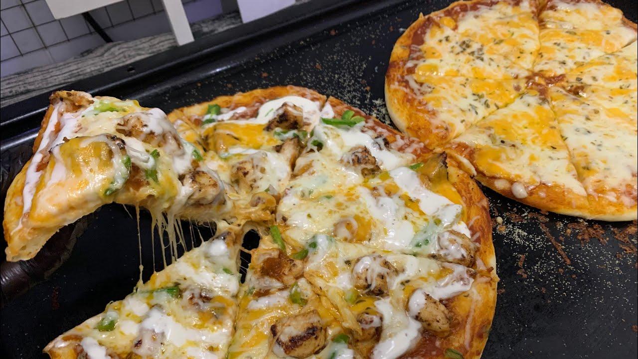 مارقريتا ورانش بيتزا تنافس بيتزا المطاعم Ranch Pizza And Margarita Pizza Youtube