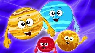 gezegenler şarkılar | şarkılar için çocuklar | Güneş Sistemi | Planets Song
