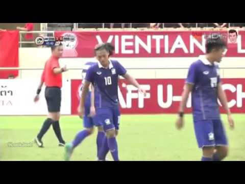 ไฮไลท์ประตู ทีมชาติไทย 5-0 มาเลเซีย AFF U19