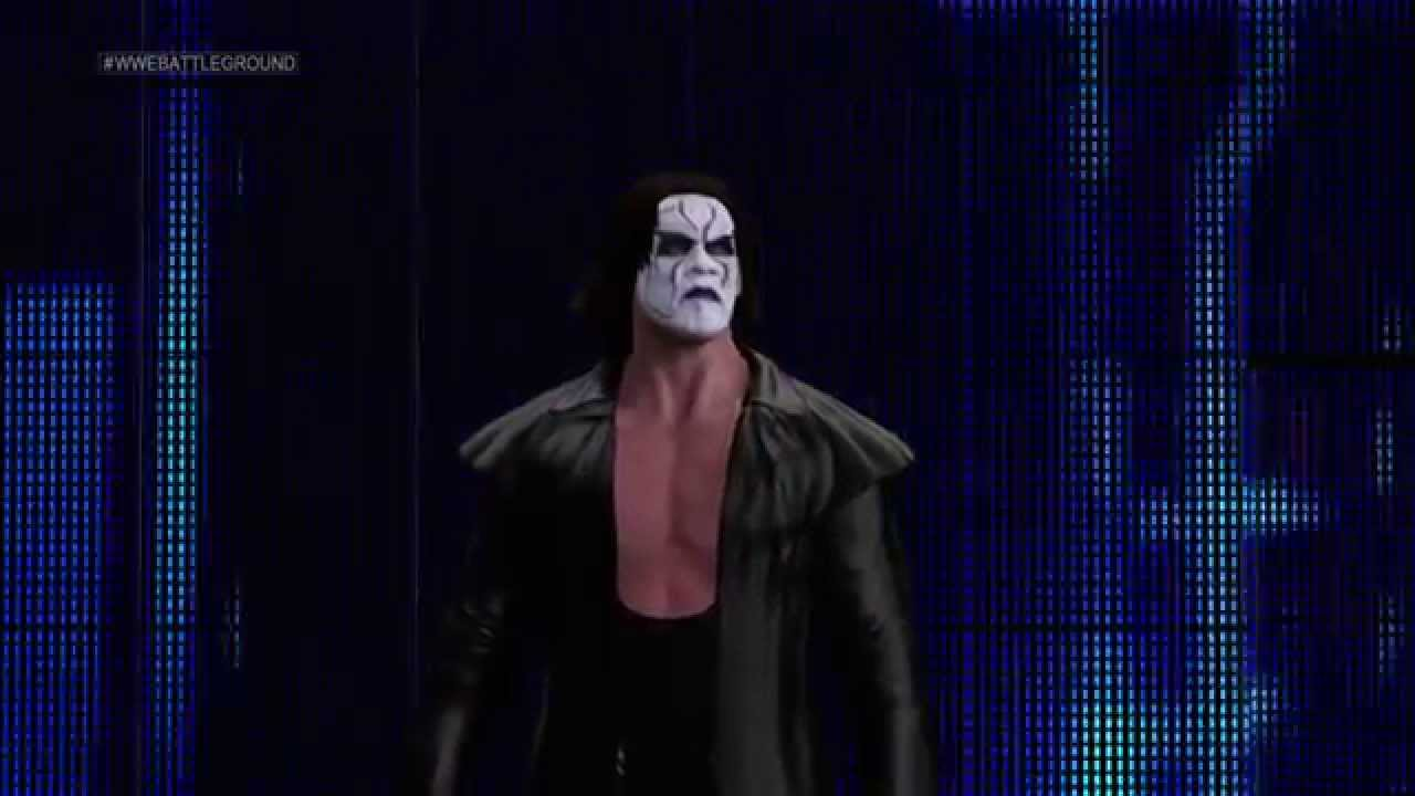 WWE 2K15 Sting Entrance - YouTube