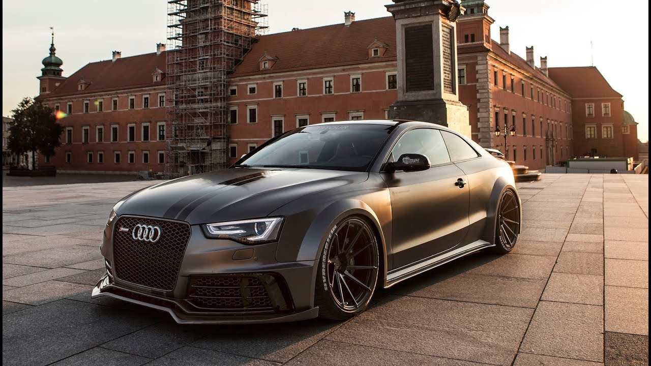 insanity 1of1 590hp audi s5 rs5 widebody supercharged. Black Bedroom Furniture Sets. Home Design Ideas