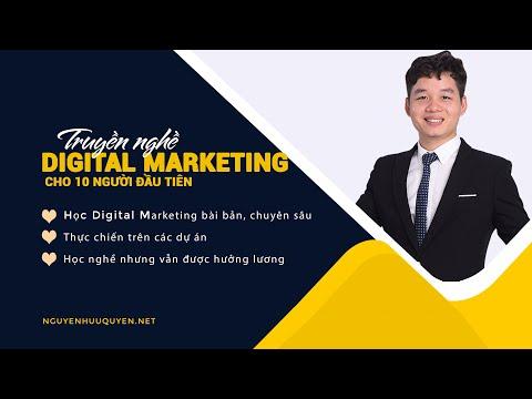 Dự án truyền nghề Marketing dành cho người đam mê - Học Digital Marketing từ 0 biết gì đến giỏi