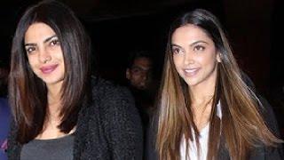 Deepika Padukone and Priyanka Chopra spotted at airport on New Year Eve