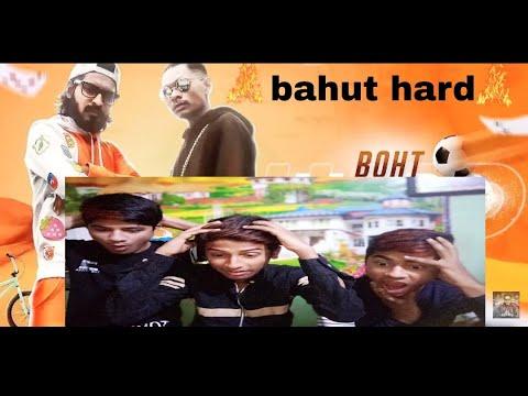 Emiway Bantai | Bahut Hard | Reaction| 🔥