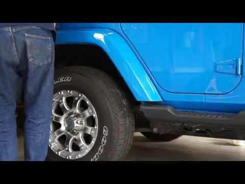 How To Change Your Sport Fender Flares To Sahara Color Matched Youtube