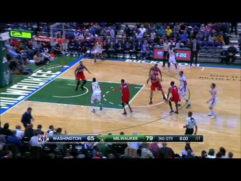 Washington Wizards at Milwaukee Bucks - December 23, 2016