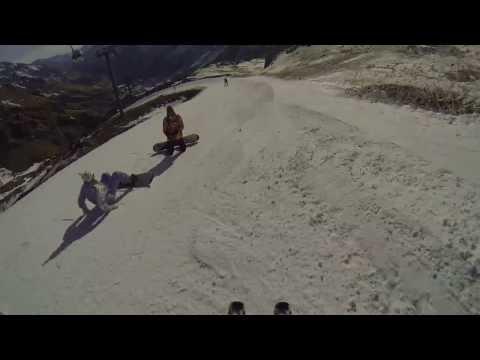 Спуск с Эльбруса 6 января 2014 года за 7 минут, максимальная скорость 96 км/ч