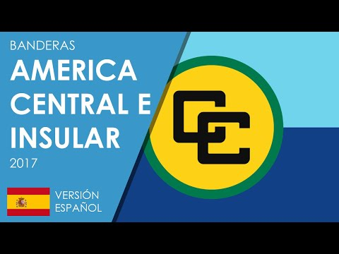 Banderas de América Central e Insular 2017