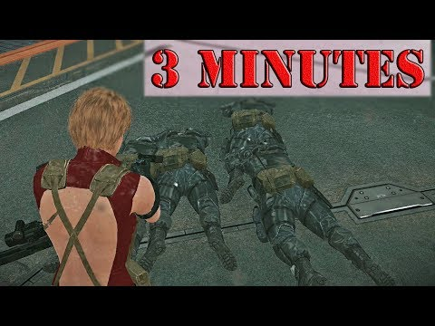 MGS5 Bound Dragons Speed Run | All Tasks, Cute Swimsuit
