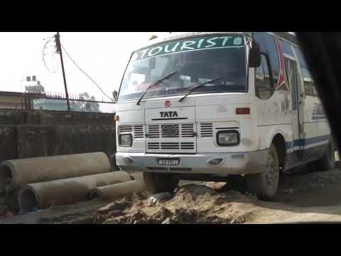 Nepal kathmandu going to the airport-IMGA0036