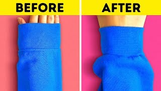 20 HACKS TO UPGRADE YOUR CLOTHES