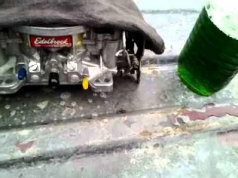 Cleaning the Edelbrock 1/3