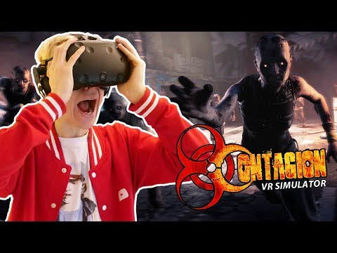 SURVIVE THE ZOMBIE APOCALYPSE IN VIRTUAL REALITY!  Contagion VR: Outbreak HTC Vive Gameplay