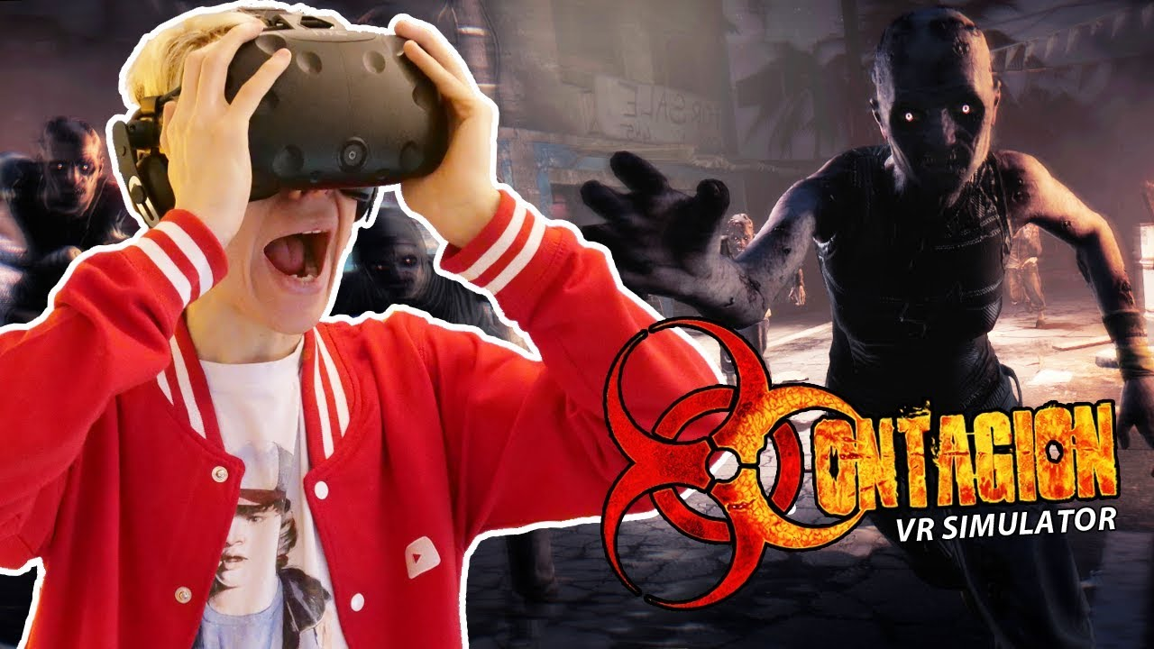 SURVIVE THE ZOMBIE APOCALYPSE IN VIRTUAL REALITY! | Contagion VR: Outbreak (HTC Vive Gameplay)