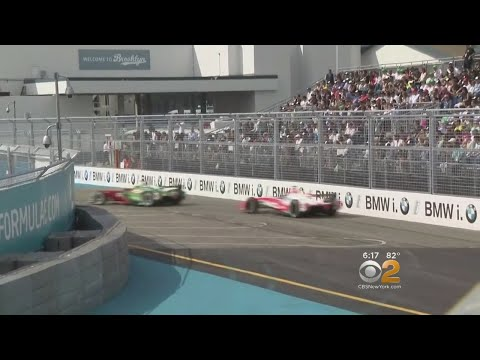 NYC Hosts Formula E Race