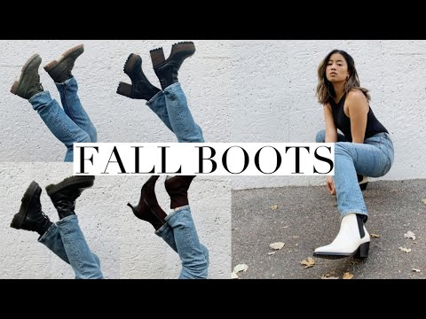 5 boots every woman needs (and how to wear them) - YouTube
