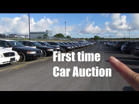 #CarVlog - First time Car Auction