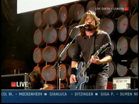 Foo Fighters - My Hero / Live Earth - Wembley - 2007