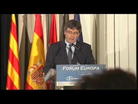 Fórum Europa con Carles Puigdemont