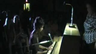 Eminem - Mockingbird on piano at school talent show.