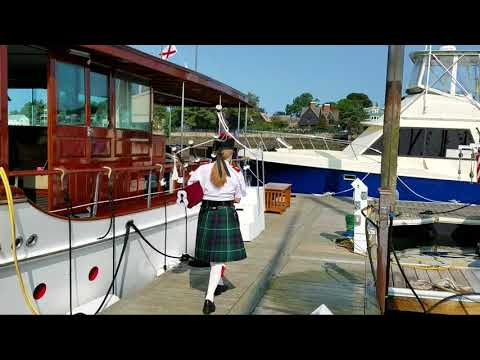Opening the Antique and Classic Boat Show, Salem MA ~ August 2017