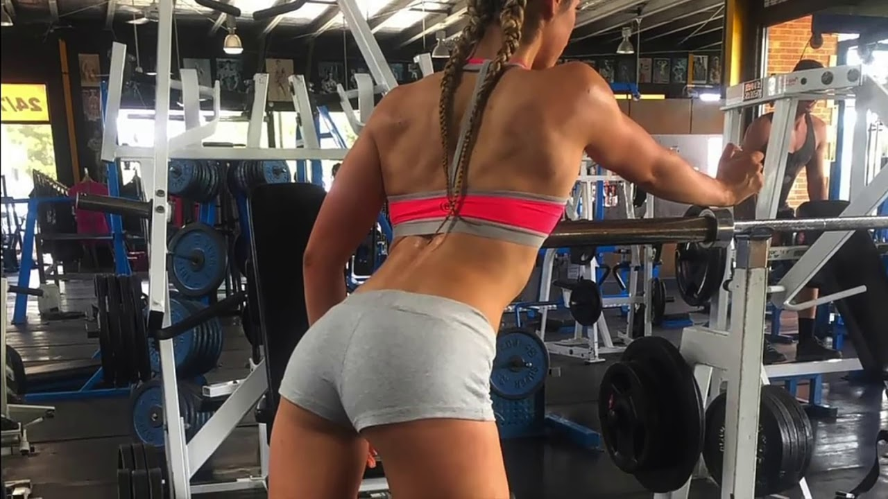 Hot gym girls