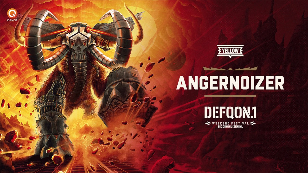 Download The Colors of Defqon.1 2018   YELLOW mix by Angernoizer