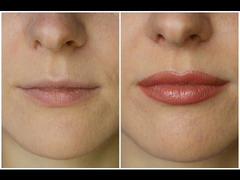Как сделать губы визуально больше | How To Make Your Lips Appear Fuller