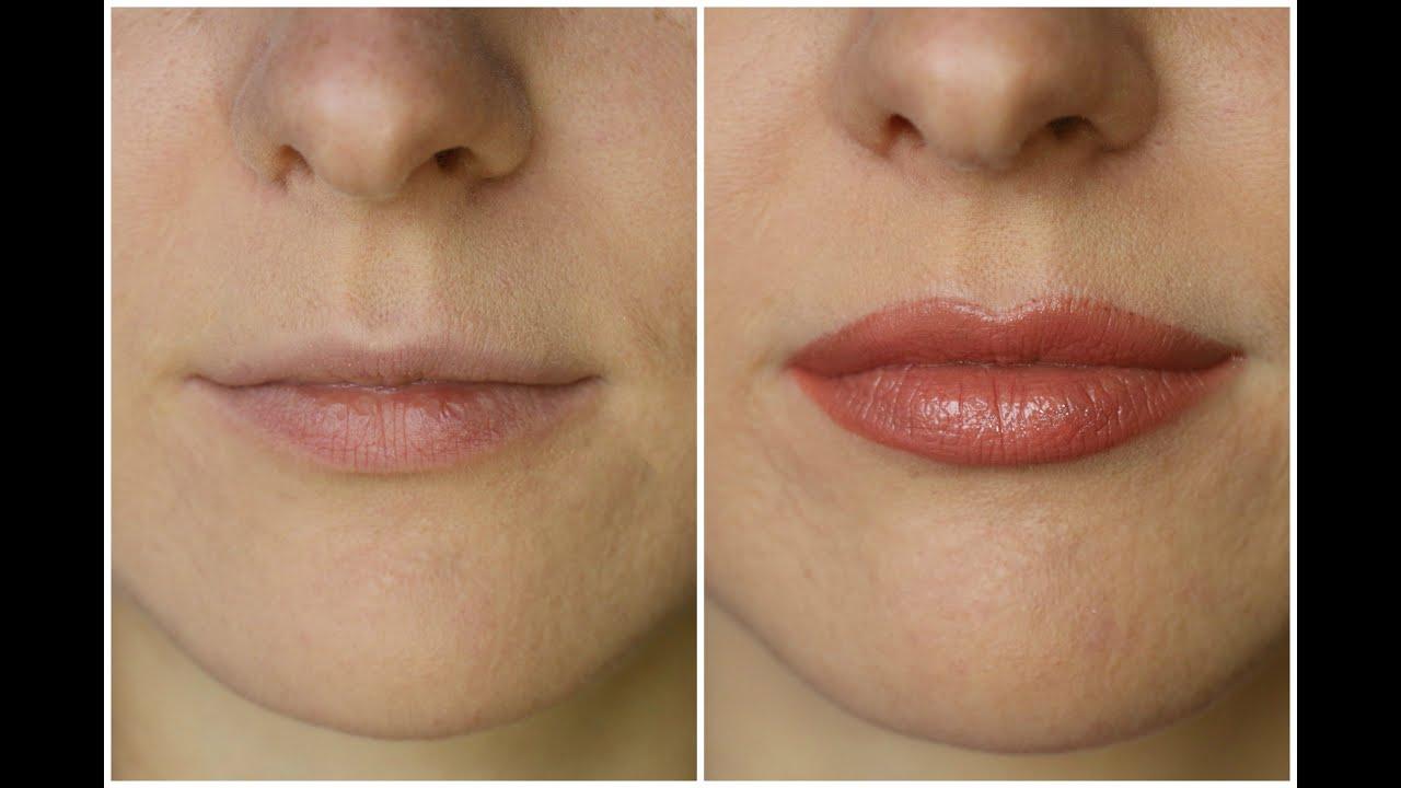 Как на сделать губы больше