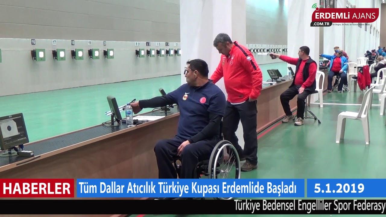 Tüm Dallar Atıcılık Türkiye Kupası Erdemli'de Başladı