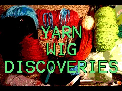 Yarn Wig Discoveries Episode 1: Brands, Sewing, Weft Technique, Long wigs