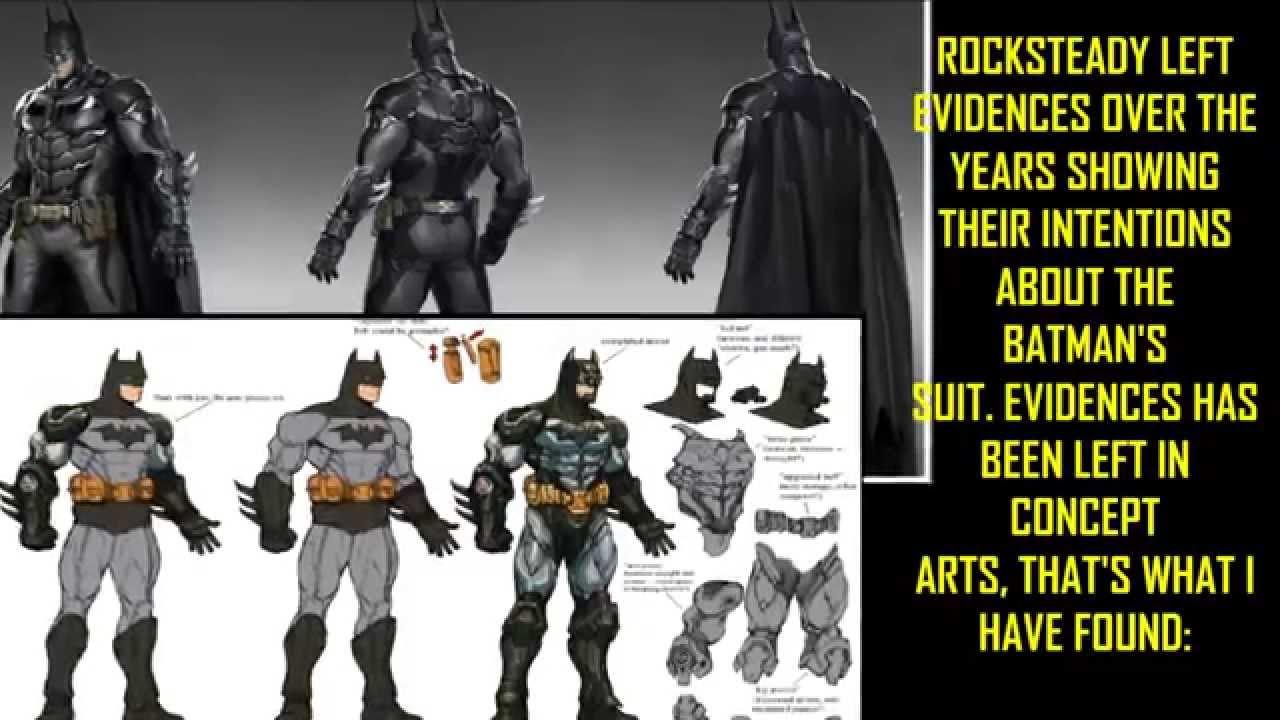 BAK: The dark Knight's suit.