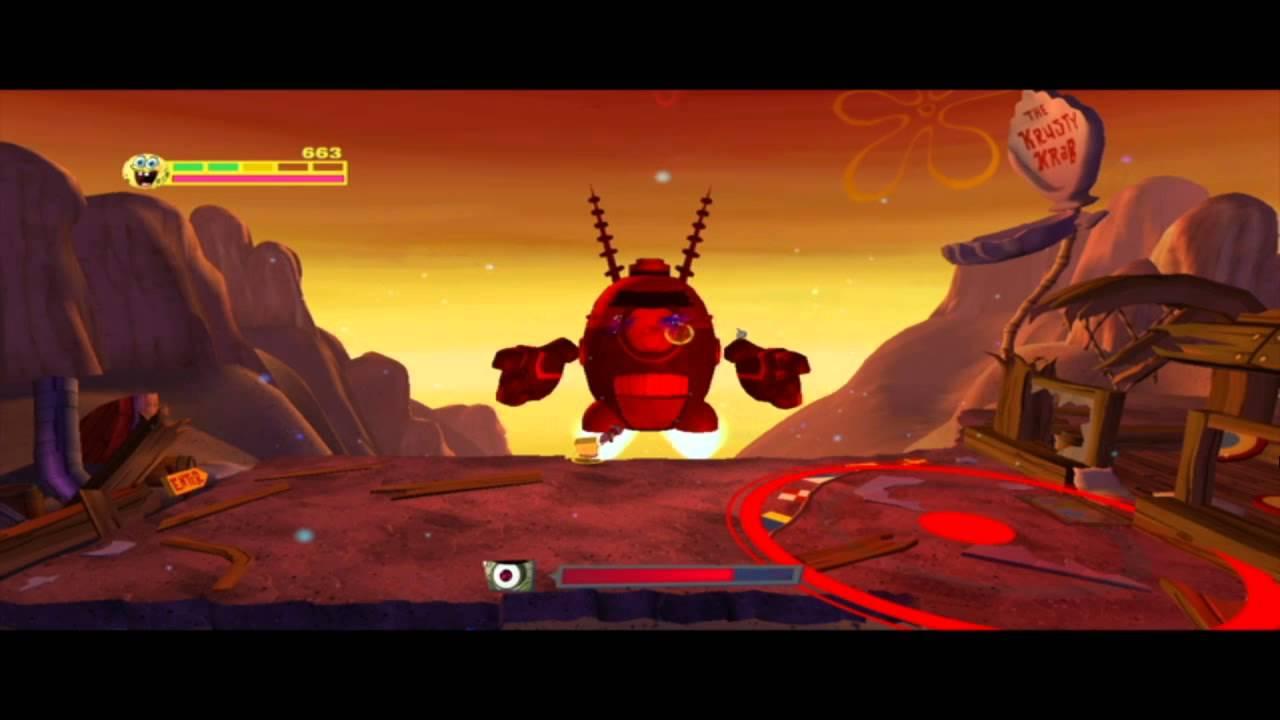 губка боб атака роботов скачать игру