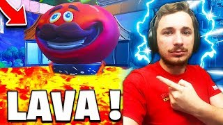 *NEW* BATAILLES GOURMANDE SPÉCIAL THE FLOOR IS LAVA sur FORTNITE !