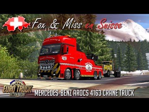 Euro Truck Simulator 2 - MISSION DÉPANNAGE AVEC MISS EN SUISSE !